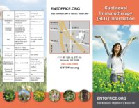 Sublingual Immunotherapy at ENTOffice.org